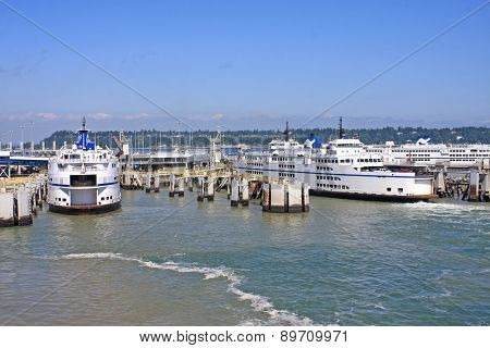 Ferries in Tsawwassen