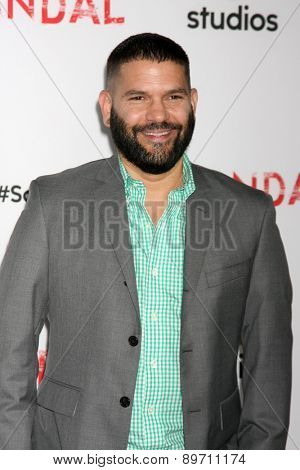 LOS ANGELES - MAY 1:  Guillermo Diaz at the