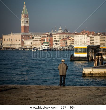 fisherman venice