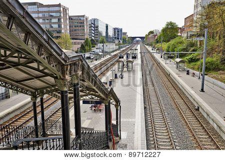 The Etterbeek Station In The Brussels-capital Region