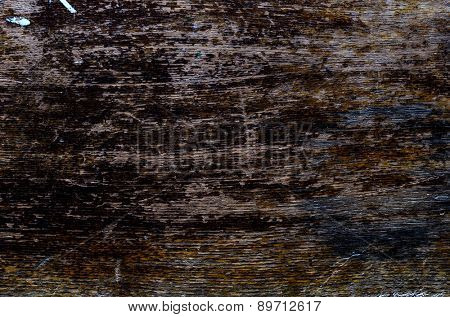 detailed texture of a worn-out wooden surface