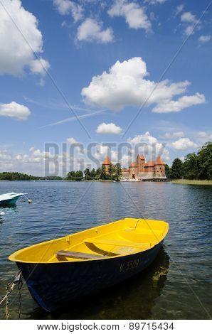 Trakai Castle, Lithuania, Europe