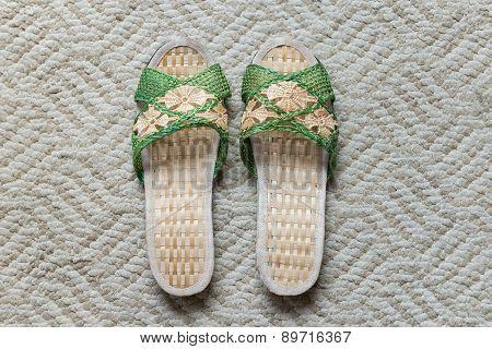 A Pair Of Woman Slipper