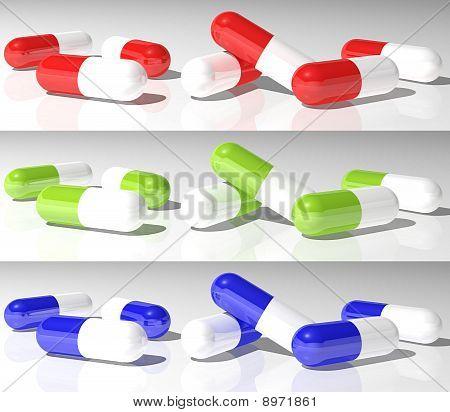 Capsules 3 Colours