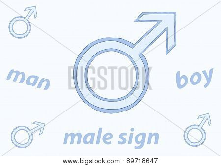 Male sign