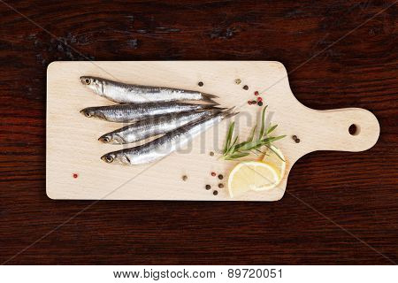 Delicious Fresh Sardine Fish.