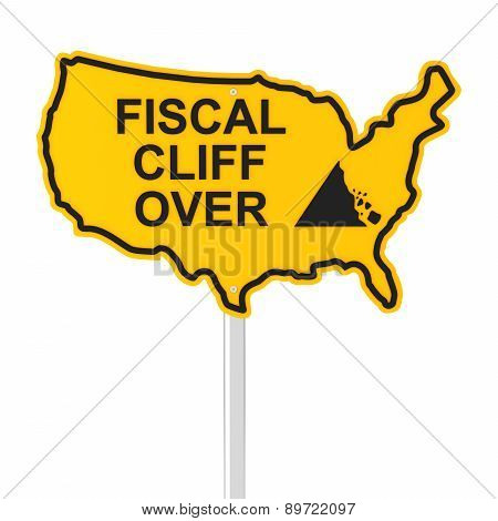 USA fiscal cliff over