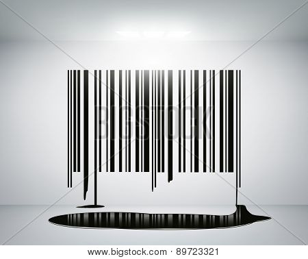 Barcode On The Wall