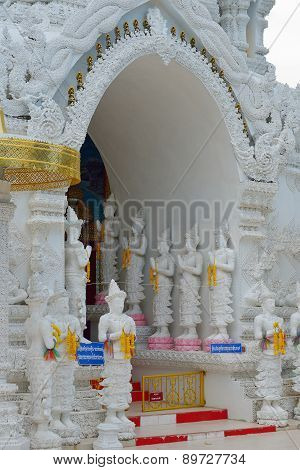 Thai Temple Of Buddhism, Lamphun, Thailand
