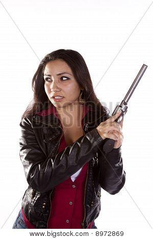 Woman Gun Protection
