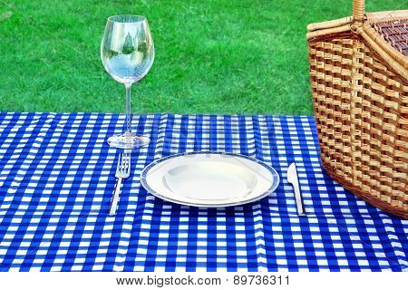 Weekend Picnic Concept