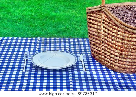 Summer Weekend Picnic Concept