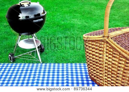 Spring Grill Party Concept