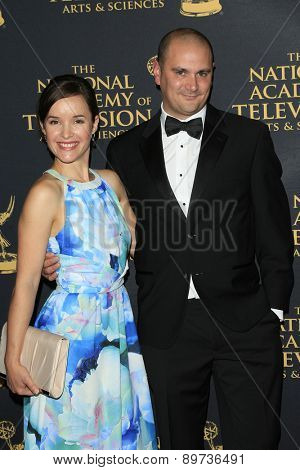 LOS ANGELES - APR 24: Sasha Dylan Bell at The 42nd Daytime Creative Arts Emmy Awards Gala at the Universal Hilton Hotel on April 24, 2015 in Los Angeles, California