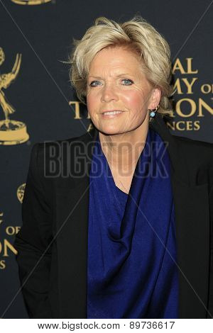 LOS ANGELES - APR 24: Meredith Baxter at The 42nd Daytime Creative Arts Emmy Awards Gala at the Universal Hilton Hotel on April 24, 2015 in Los Angeles, California