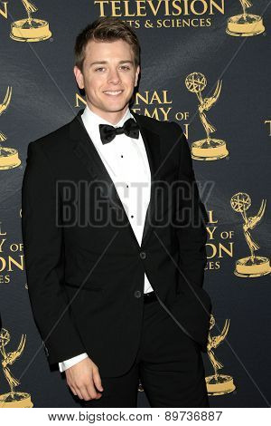 LOS ANGELES - APR 24: Chad Duell at The 42nd Daytime Creative Arts Emmy Awards Gala at the Universal Hilton Hotel on April 24, 2015 in Los Angeles, California