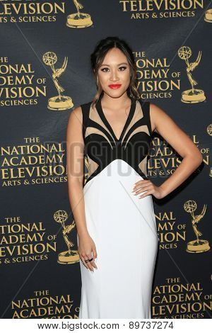 LOS ANGELES - APR 24: Kylie Erica Mar at The 42nd Daytime Creative Arts Emmy Awards Gala at the Universal Hilton Hotel on April 24, 2015 in Los Angeles, California