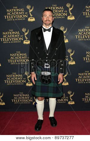 LOS ANGELES - APR 24: Dr Pete Black at The 42nd Daytime Creative Arts Emmy Awards Gala at the Universal Hilton Hotel on April 24, 2015 in Los Angeles, California