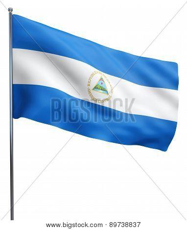 Nicarague Flag Image
