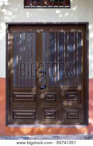 Historic Wooden Door