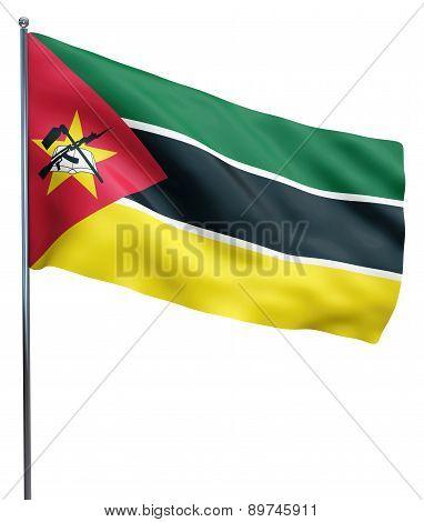 Mozambique Flag Image