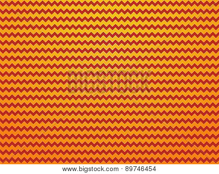 Modern Yellow Red Zig Zag Background