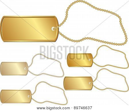 Golden Pendant