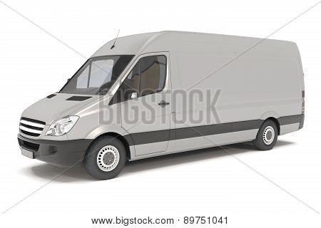 Delivery Van - Silver