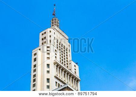 Building, symbol of Sao Paulo, Brazil