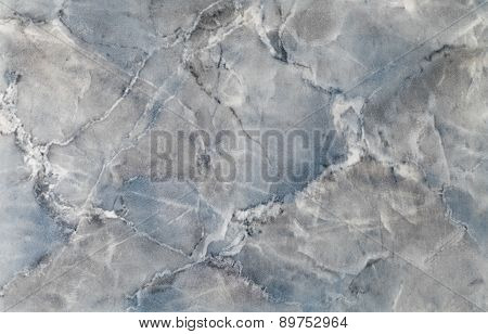 high quality blue colored marble tile , close up