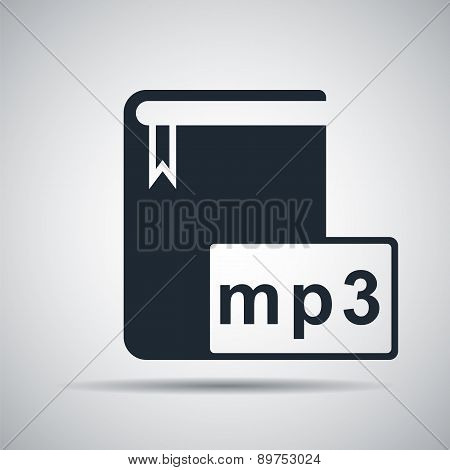 Book Format Mp3 Icon