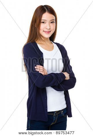 Asian young woman portrait