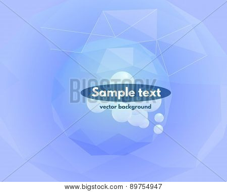 Abstract vector polygonal sphere