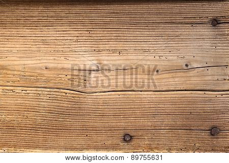 old antique wooden tables with nails