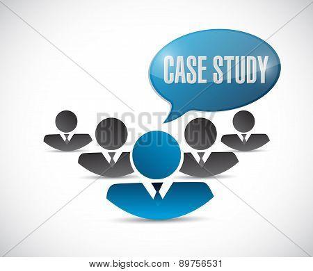 Case Study Team Sign Concept