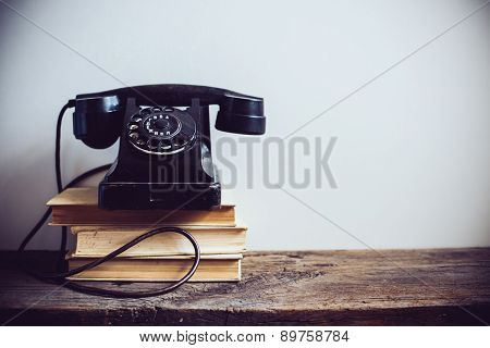 vintage rotary phone