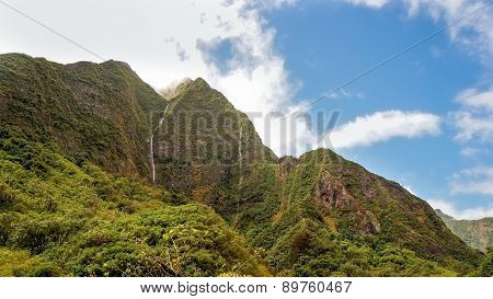 Iao Valley, Maui, Hawaiian Island, USA