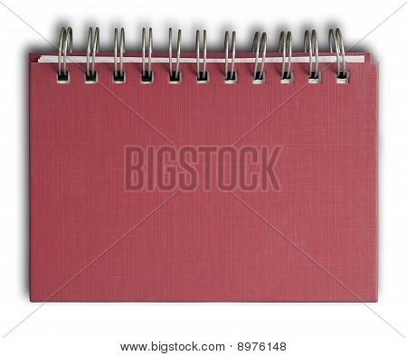 Red Cover Note Book