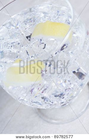 Gin Tonic Cocktail Glass.