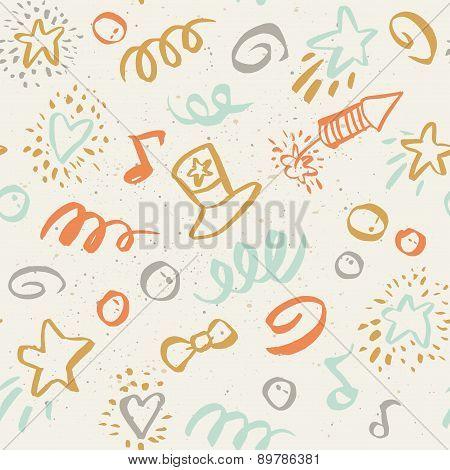 Seamless Pattern On 4 July.