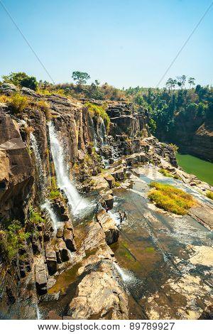 Pongour waterfall, Vietnam