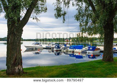 Boats In Mora