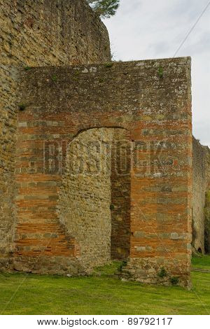 Town-walls Of Arezzo