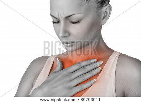 Stethalgia