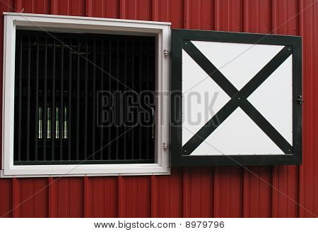 Horse Barn Window