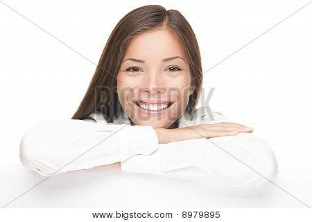 Banner bonito mulher