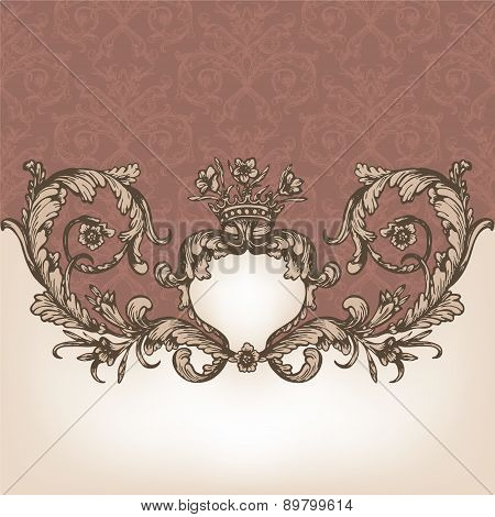 Vintage royal card