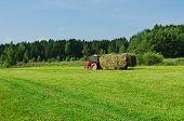 pic of tractor  - Rural landscape - JPG