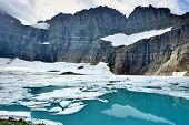 ������, ������: Grinnell Glacier In Many Glaciers Glacier National Park Montana