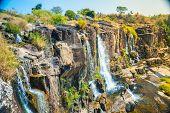 foto of lats  - The big Pongour waterfall near Da Lat city - JPG